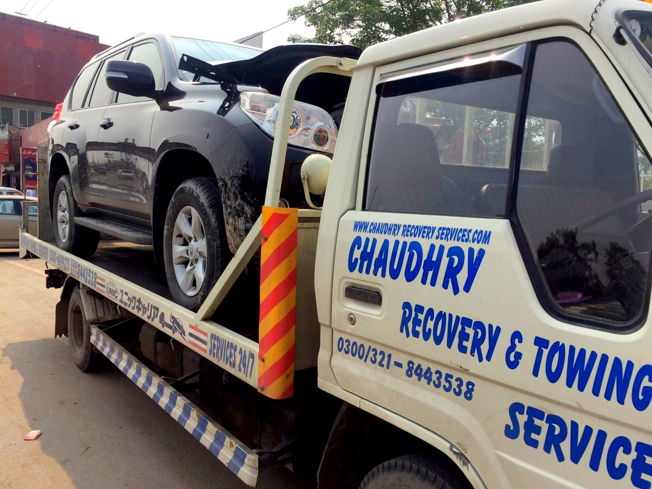 Car Towing And Breakdown Services In Pakistan Chaudhary Recovery